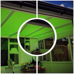 Skylight conservatory #hannanblinds