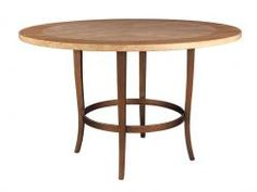 Quadrille Dining Table, Travertine, Artistica