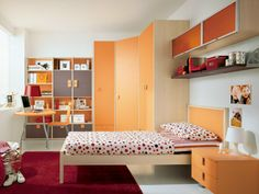 Wooden teenage bedroom KIDS A6 Kids Collection by FAER Ambienti by Gruppo Lube   design Vittorio Lanciani
