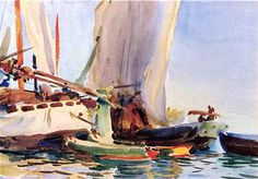 Giudecca - John Singer Sargent Completion Date: c.1907