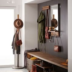 Industrial Entryway Mirror | west elm