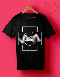 Arctic Monkeys Block Logo T Shirt //Price: $14.50