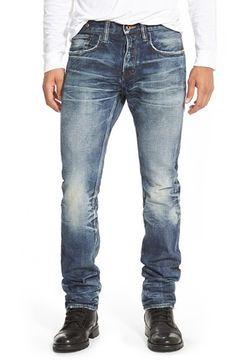 PRPS 'Demon - Noir Porrima' Straight Leg Jeans (Dark Wash) available at #Nordstrom