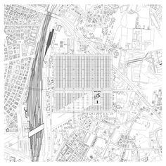 Paper Architecture, Urban Architecture, Architecture Drawings, School Architecture, Beautiful Architecture, Iso Drawing, Plan Drawing, Topography Map, Aa School