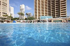 Marconfort #Benidorm Suites. Swimming Pool - 70's 80's & 90's music themed hotel www.marconfort.com