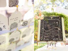 Real Wedding: Burlap Backyard Wedding.. perfect!