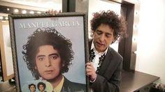 Manuel García - Agradecimiento por Disco de Platino