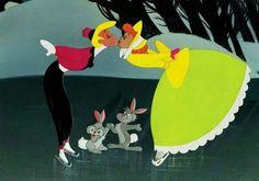 "A Walt Disney ""Melody Time"" Once upon a Wintertime - favorite Christmas short! Walt Disney, Disney Nerd, Disney Couples, Disney Love, Christmas Cartoons, Disney Christmas, Christmas Music, Vintage Christmas, Christmas Time"