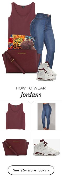 """#contests"" by lovermonster on Polyvore featuring Monki, NIKE and MICHAEL Michael Kors"