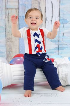 Mickey Mouse Sailor Tie and Suspender Bodysuit with Anchor Mickey Pants for Baby Boy Birthday Nautical Birthday Party Sailor Mickey by shopantsypants on Etsy https://www.etsy.com/listing/206459090/mickey-mouse-sailor-tie-and-suspender