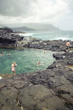 Must go! Queens Bath, Kauai, Hawaii.