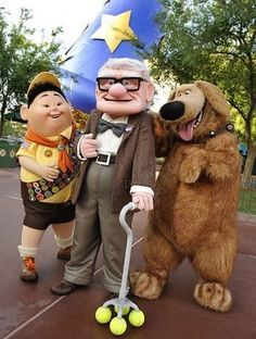 Up Characters at Disney World                                                                                                                                                     More
