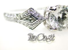 kite and centillion cut diamond