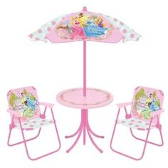 Disney Princess Patio Set --- http://www.amazon.com/Disney-42766-Princess-Patio-Set/dp/B007PBMR30/?tag=mywelost0e-20