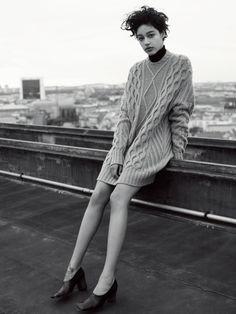 ロングセーター。