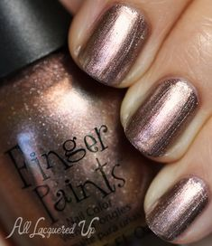 """Finger Paints """"Fall of Surprises"""" Fall 2012 Nail Polish Collection Swatches and Review - Take It Or Leaf It"""