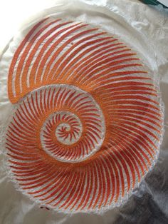 The Artwork of Meredith Woolnough: Sea Spiral