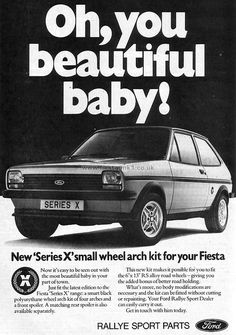 Fiesta MK1: Series-X Classic Motors, Classic Cars, Ford Fiesta Mk1, Retro Cars, Vintage Cars, Ford Vehicles, Thing 1, Ford Escort, Car Posters