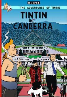 Les Aventures de Tintin - Album Imaginaire - Tintin in Canberra