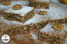 Fun Desserts, Dessert Recipes, Poppy Cake, Hungarian Recipes, Health Eating, Cake Cookies, Banana Bread, Vegetarian Recipes, Deserts