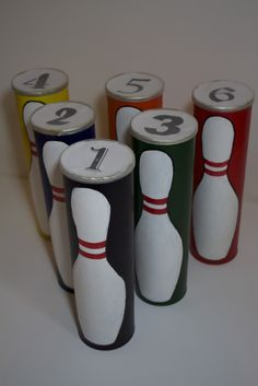 Handmade by Meg K: Reuse Bowling Set