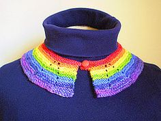 Ravelry: Rainbow Collar pattern by Frankie Brown