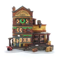 Department 56 East Indies Trading Co Dickens Village Cottage * More info could be found at the image url.