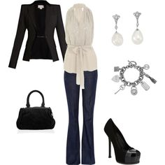 Not that I would know or anything but I think this would be a good outfit for a Date Night :)
