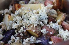 Red White & Blue Potato Salad