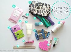 DIY On The Go Beauty Kit U By Kotex #UByKotexStars