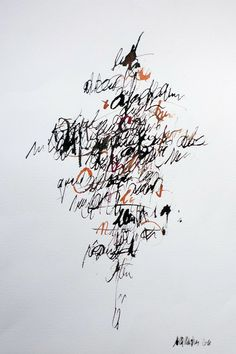 Saatchi Online Artist: Nilla Martinis; Pen and Ink, 2011, Drawing Verba Tree