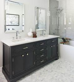 Boys Bath Cabinet More Dark Grey Single Sink Love Floor And Tiles