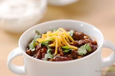 Easy Freezer Meal for the Family: Slow Cooker Chili