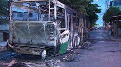 Belo Horizonte - MG | Criminosos colocam fogo em ônibus em Ribeirão das ...