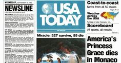 """#OnThisDay in 1982, the first issue of """"USA Today"""" was published."""