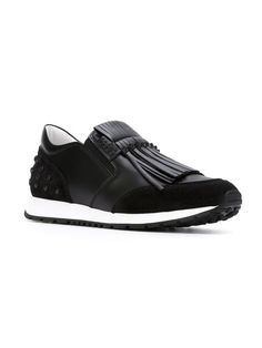 Tod's fringed low-top sneakers