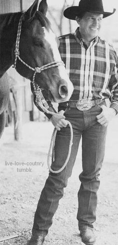 George Strait, the worlds most handsome man and the king of country!