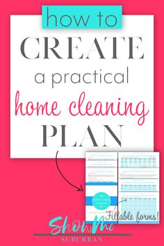 Finally Get Your House Clean in the Time You Have​​​​ FREE Home Cleaning Planning Kit! The Home Cleaning Planning Kit will help you create a daily, weekly, and monthly cleaning schedule that's tailored to your Speed Cleaning, Cleaning Day, Deep Cleaning Tips, Cleaning Checklist, Cleaning Hacks, Spring Cleaning, Remove Sweat Stains, Clean House Schedule, Cleaning Gloves