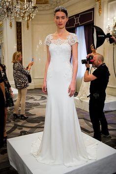 Bridal Fashion Week Wedding Dress Trends Spring 2016 | POPSUGAR Fashion