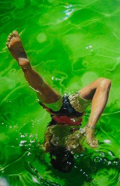 Art pool water on pinterest eric zener underwater for Harvey s paint and body