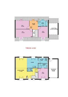 dcouvrez notre maison tircis 4103 et faites le bon choix pour la construction de votre bien - Bon Plan Construction Maison