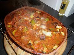 Livet på Backastrand !: Rykande het osmansk gryta.... Slow Food, Clay Pots, Crockpot, Chili, Clean Eating, Soup, Blogg, Middle East, Drink