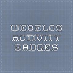 Webelos Communicator Badge Requirement | Cub Scouts | Pinterest ...