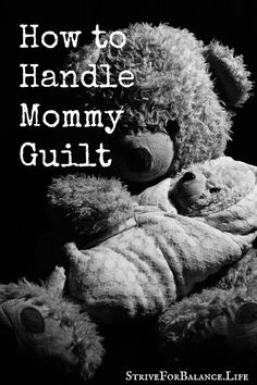 How to Handle Mommy Guilt. If you have mommy guilt, this is a must read. This…