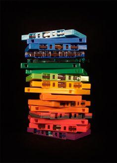 Cassette Rainbow par Whitwell Matt