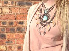 Real Bear Claw Necklaces  bellaandchloe.com