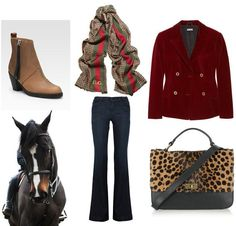 More fall... Acne boots, J. Crew bag, Gucci scarf, Miu Miu blazer