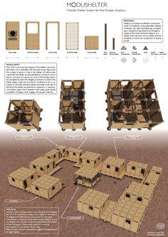 UK Student Develops 3D Printable Post-Disaster 'Modushelter,' Solving Challenges in Refugee Housing