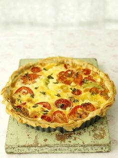 Tomato Tart | Vegetables Recipes | Jamie Oliver Recipes