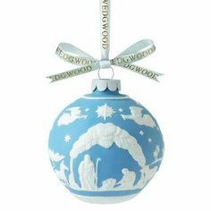 Wedgwood 2013 Christmas Tree Nativity Scene Ornament